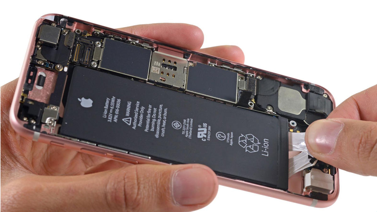 「iPhone6s バッテリー」の画像検索結果
