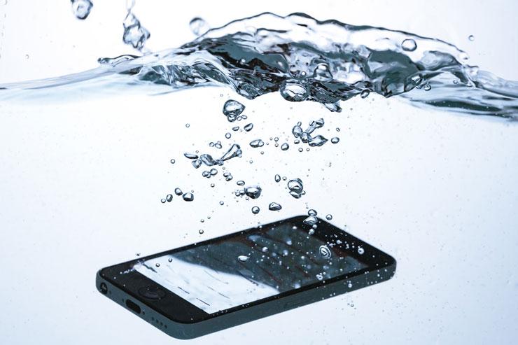 iPhoneの水没トラブル その2