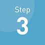 ご利用の流れステップ3