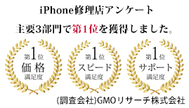 GMOリサーチ主要3部門にて1位を獲得
